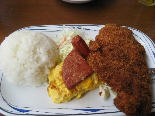 沖縄の定食